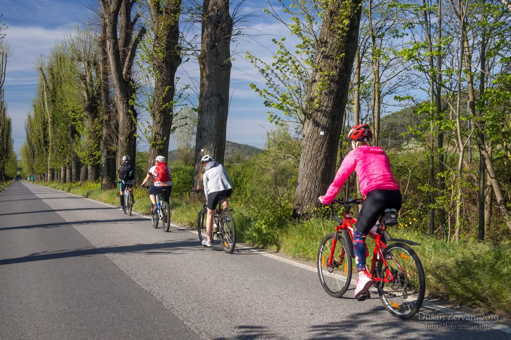 cyklozájazd Toskánsko, 2019 (z Lucca do Marina di Pisa)