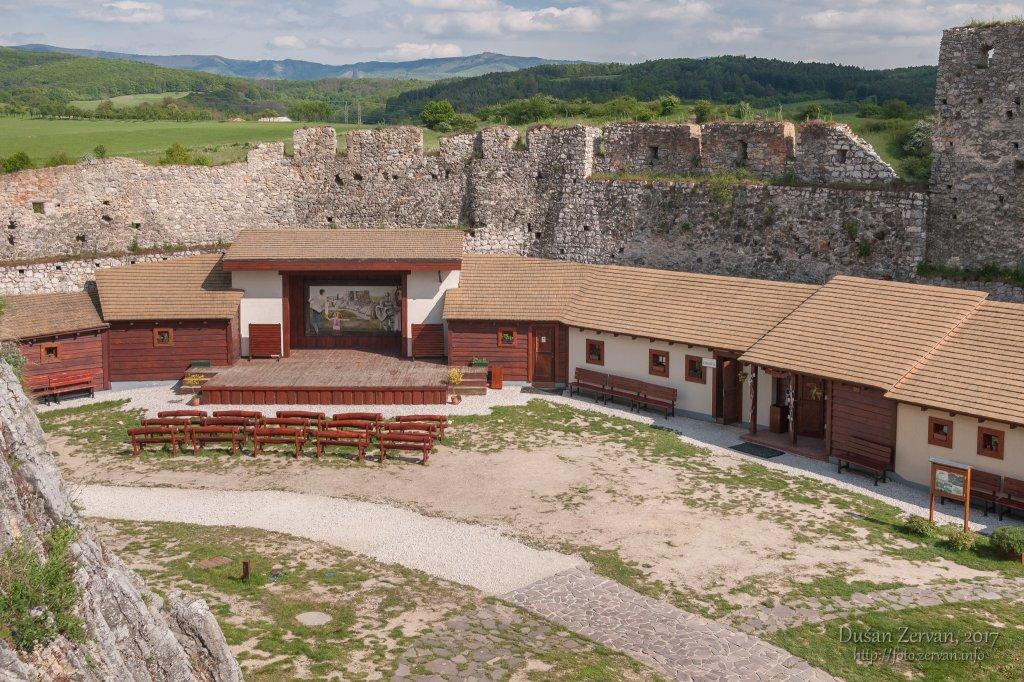 hrad Beckov, 2017