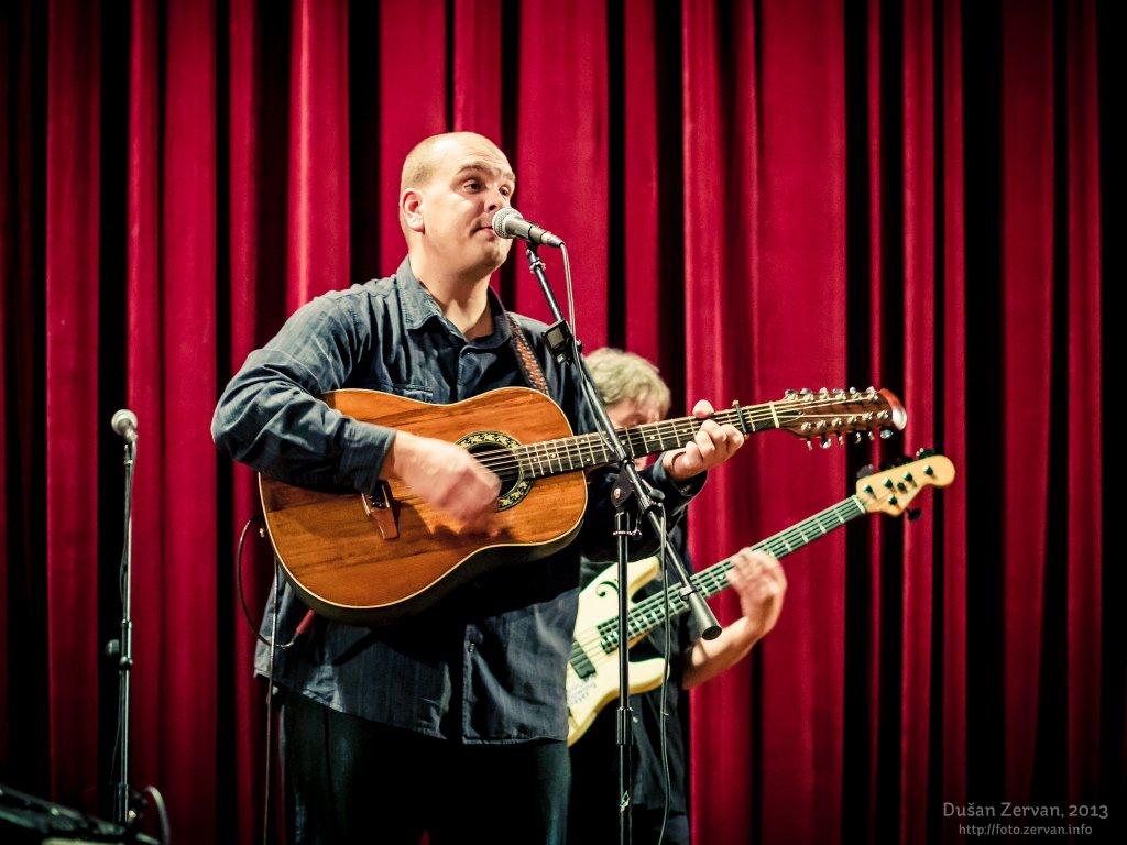 František Nedvěd a Vojta Nedvěd s kapelou, Nová Dubnica, 2013