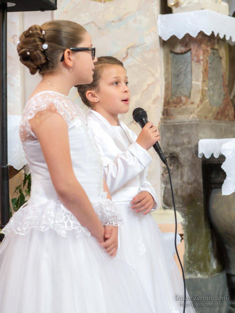 Prvé sv. prijímanie, Borovce 2016