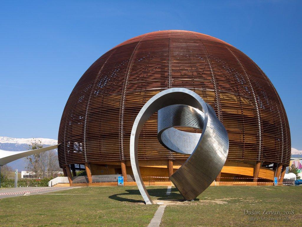 exkurzia CERN Ženeva, 2018