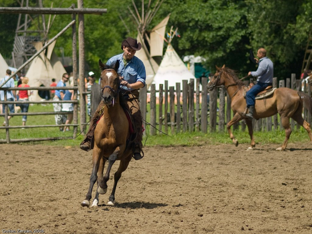 Western Rodeo Show Chocholn� 2008