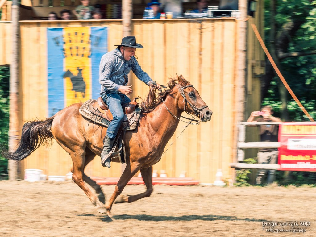 Western Rodeo Show, Chocholná - Velčice, 2013