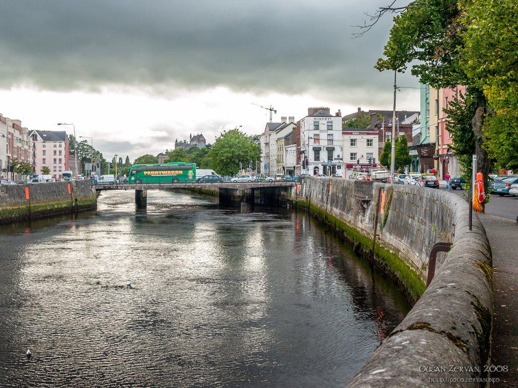 Farren's Quay bridge, Cork, Ireland